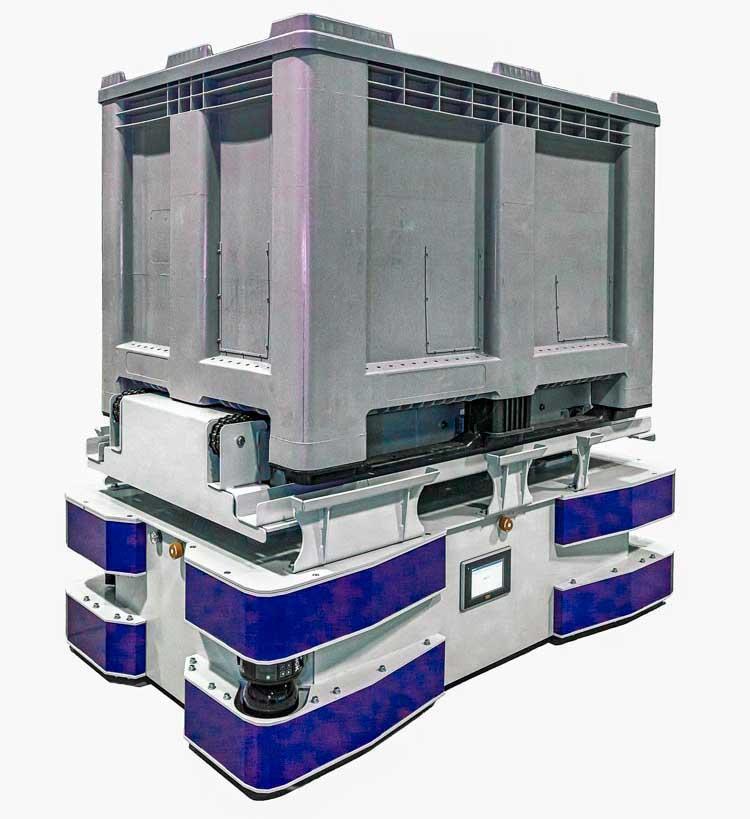 Das neue, modulare 48V FTS von HaRo - ausgelegt für Lasten bis 1.500kg