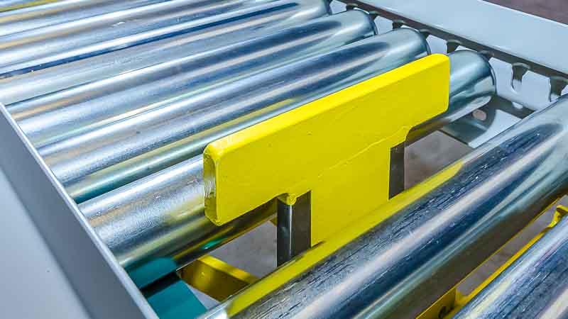 Flachstopper - HaRo - der Flachstopper ist bestens geeignet für die Kontrolle von Paketen, Kisten und Boxen im Versand und auf der Rollenbahn