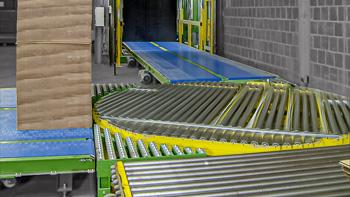 Link zur Drehstation von HaRo - Einfach Rotation des Paletten Fördergut auf der Stelle - einfach - effizient - platzsparend