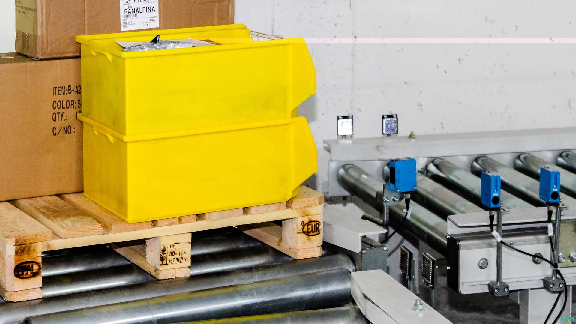 Forderanlagen Fur Paletten Glt Stahlboxen