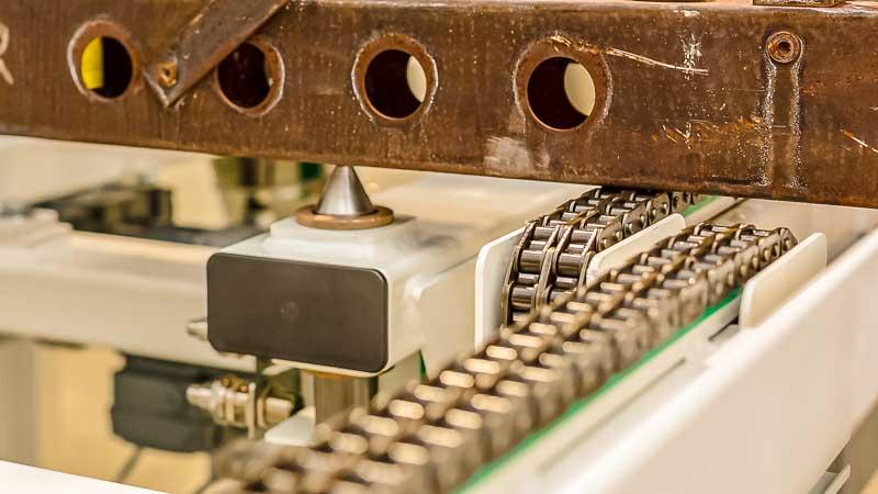 Positionierungs Stopper - HaRo - für eine präzise Positionierung sorgt der von unten ausfahrende Bolzenstopper