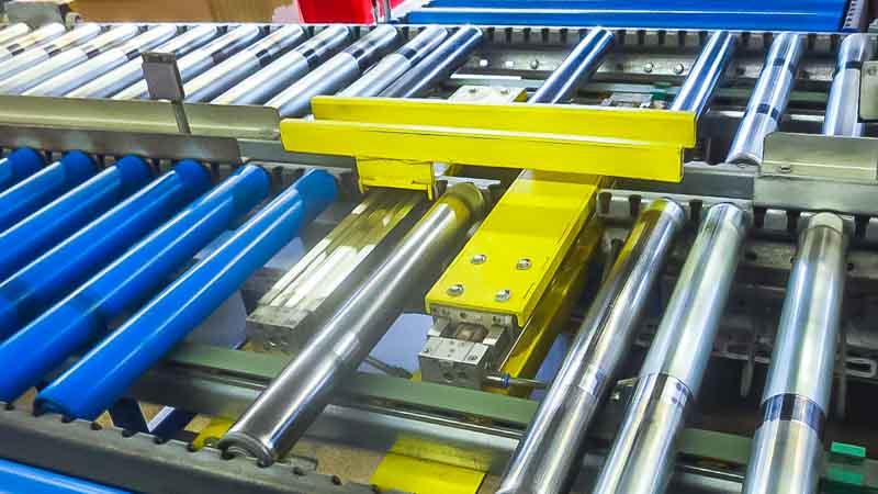 Pusher - HaRo - Eine effektive Form der Material Vereinzelung und Sortierung des Fördergut