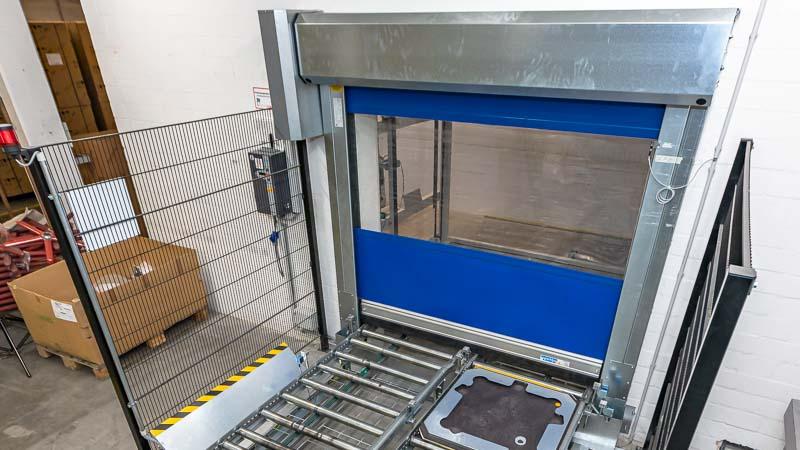 Schnelllauftore in der Fördertechnik - Sicherheit und Energieeinsparung zugleich